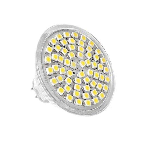 G/GU/GX5,3 MR16 3528 SMD 60 LED Lampe AMPOULE SPOT Lumiere BULB BLANC 12V 4W