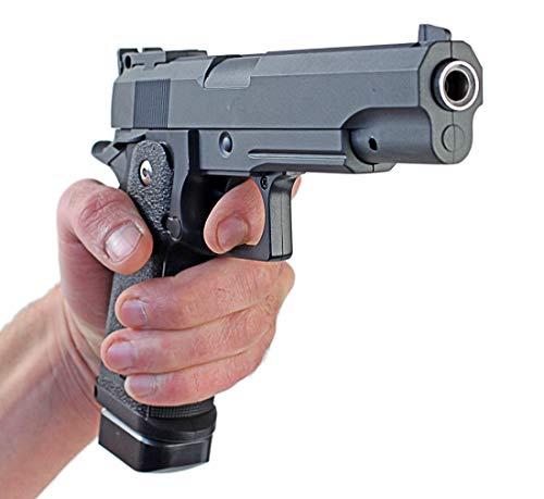 Nerd Clear Metall Pistole 1 zu 1 Nachbau für Film und Karneval G6-12244 ab 14 J. unter 0,5 Joule