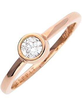 Esprit Damen-Ring 925 Sterling Silber ESRG92424B1
