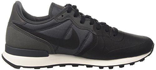 Nike Internationalist Prm Se, Sneakers Basses Homme Noir (Black/black/anthracite/anthracite/summit White)