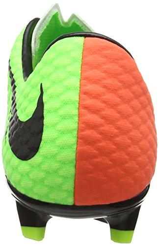 Hypervenom Nike Negro Verde Fg Phelon Hiper Vert naranja elctrc Iii voltios Fútbol 6fxpFf
