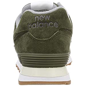 new balance 574 hombres verde