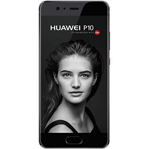 Huawei P10 Smartphone, Dual SIM, 4G, 64 GB, Negro/ Grafito
