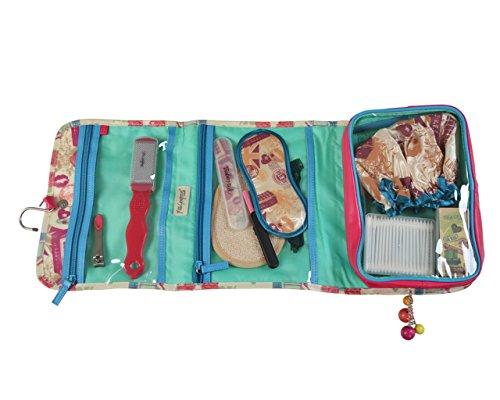 Miss Gorgeous-Set da viaggio contiene trucco set/doccia Cap/Lima per unghie/Piede Morto Pelle Remover/Occhio Maschera e tagliaunghie, Confezione da 10