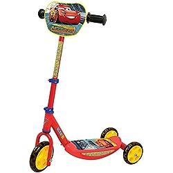 Smoby-750154 Patinete con 3 Ruedas, diseño Cars 3, Color Rojo (Simba Toys 750154)