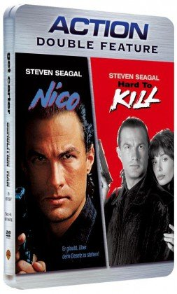 Hard to Kill und Nico UNCUT Steelbook / Steven Seagal Action Double Feature