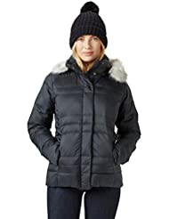 Columbia Mercury maven IV Jacket – Chaqueta Plumón mujer, Mujer, color Black Dotty Plaid Print, tamaño medium