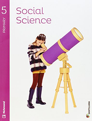 SOCIAL SCIENCE 5 PRIMARY STUDENT'S BOOK + AUDIO - 9788468030739