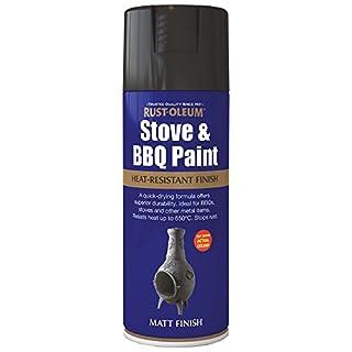 400ml Stove & BBQ Paint Black