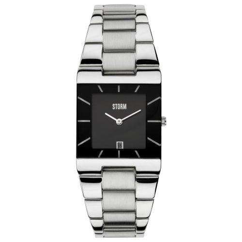 Storm 47194/BK – Watch For Women Silver Stainless Steel Strap