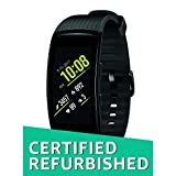 Offer Type:Band Only | Size:Large | Color:Liquid Black Reach your goals with the ultimate fitness partner, the Samsung Gear Fit2 Pro. Durable and swim-ready, the Gear Fit2 Pro syncs with fitness apps, plays your music, stays on top of your stats and ...