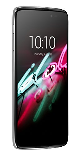 Alcatel 6045Y-2AALWE7 Onetouch Idol 3 Smartphone metallisches Silber