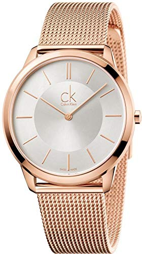 Calvin Klein Men's Analogue Quartz Watch with Stainless Steel Strap K3M21626