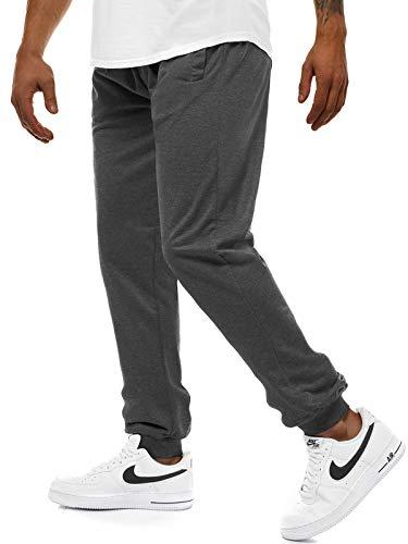 OZONEE Herren Jogg Hose Baggy Training Täglichen Hose Regular Sporthose Freizeit Hose Jogginghose Freizeithose Fitness 777/2230S DUNKELGRAU L - Das Tägliche Training