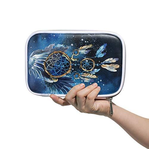 Funnyy Galaxy Space - Estuche para lápices con cremallera multifuncional, bolsa de viaje, bolsa de maquillaje, bolsa de cosméticos para niños, estudio, mujer, trabajo, etc.