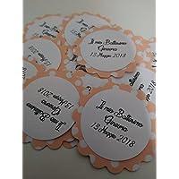 25 Tag fantasia- Etichette per matrimonio, regalo, eventi, pacchetti, battesimo