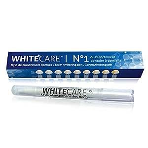 Stylo Blanchiment des Dents Goût Menthe | Stylo dent blanche, pas besoin de kit blanchiment dentaire, à appliquer directement sur les dents | Nettoie et blanchit les dents | Développé dans notre laboratoire, le gel est 100% normes françaises