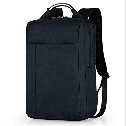 Ruanlei @ tela casual zaini viaggio/ laptop backpack / multifunzione zaino business/ backpack resistente all'acquail nylon elegante sport viaggi double borsa a tracolla, nero