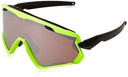 Oakley Herren Wind Jacket 2.0 707206 0 Sportbrille, Gelb (Neon Retina/Prizmblackiridium), 99