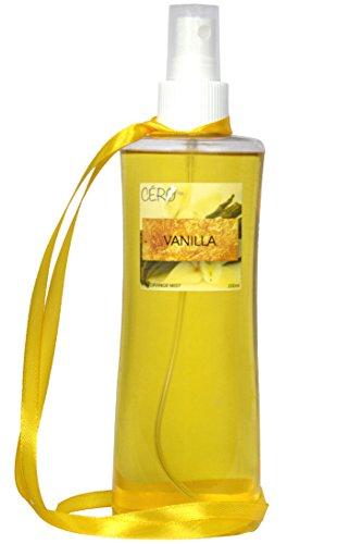 Cero 100% Organic VANILLA Fragrance MIST, No Gas (200ml)