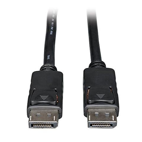 Tripp Lite DisplayPort câble audio et vidéo numériques avec verrouillage (M/M)