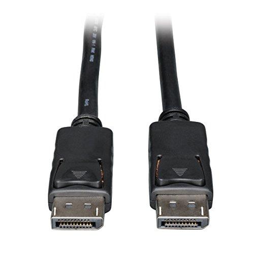 Tripp Lite DisplayPort Digitaler Video- und Audio-Kabel mit Laschen (M/M) 0 schwarz 6.09 m (20-ft.) -