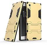 Cocomii Iron Man Armor Sony Xperia XA1 Coque Nouveau [Robuste] Supérieure Tactique Prise Support Antichoc Couverture [Militaire Défenseur] Corps Entier Case Étui Housse for Sony Xperia XA1 (I.Gold)