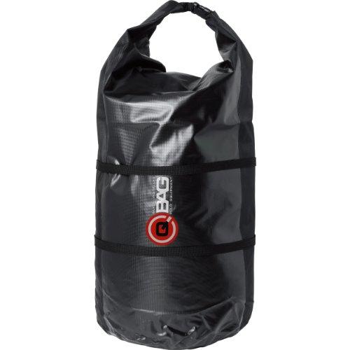 QBag Gepäckrolle wasserdicht 01 bis zu 65 Liter schwarz