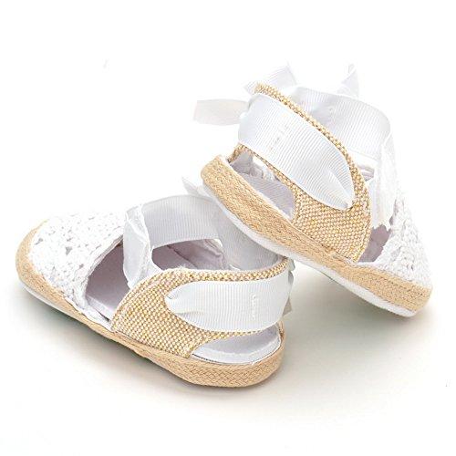 nett Baby Mädchen Sommer Schuhe Baby sandalen Laceup white