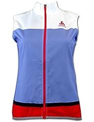 Odlo Radsport Funktionsweste Soulor für Damen mehrfarbig XL