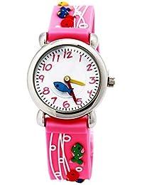 333e1bd25d2 ARROYO Time Teacher Kids Boys Girls 3D Silicone Environmentally Friendly  Analog Watches Birthday Xmas Gift ME362