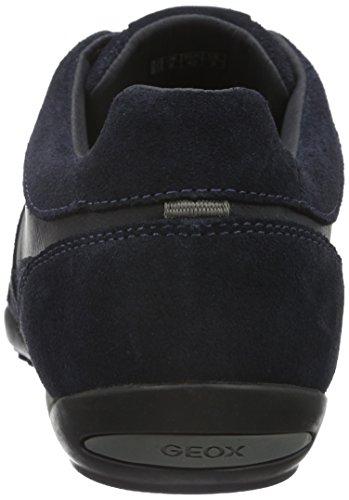 Geox Herren U Wells C Sneakers Blau (Navyc4002)