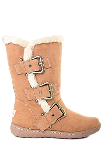 Pixie Daisy, Ladies Boots (4, Camel)
