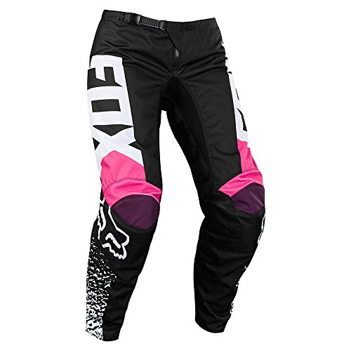 Fox Pants Lady 180, Black/Pink, Größe 8 Fox Motocross Hose