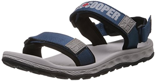 Lee Cooper Men's Blue Grey Sandals and Floaters - 8 UK