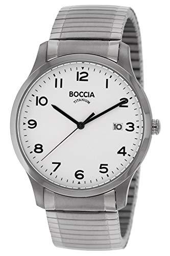 Boccia Reloj Analógico para Hombre de Cuarzo con Correa en Titanio 3616-01