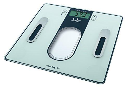 JATA Mod. 534 - Personenwaage (LCD, Weiß, Quadratisch, CR2032, Lithium, Glas)