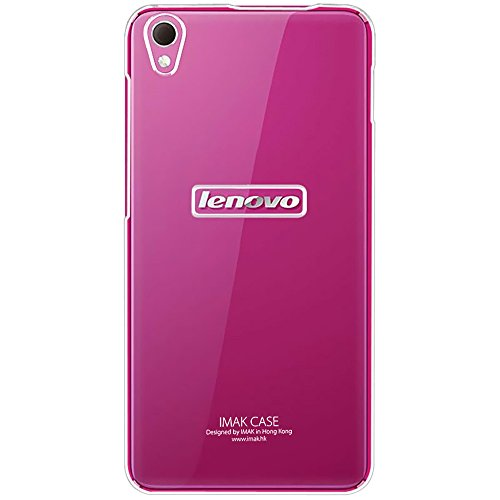 Heartly Imak Crystal Transparent Flip Thin Hard Bumper Back Case Cover For Lenovo S850