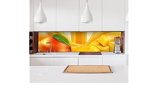 B:360cm x H:70cm Küchenrückwand selbstklebend Dekofolie ...