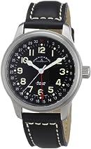Zeno Watch Basel Unisex-Armbanduhr New Classic Analog Automatik Leder 9554Z-a1