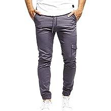 aeecdcdc1f Amazon.it: pantaloni neri uomo - Grigio
