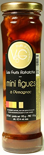 Mini figues à l'armagnac 21 cl