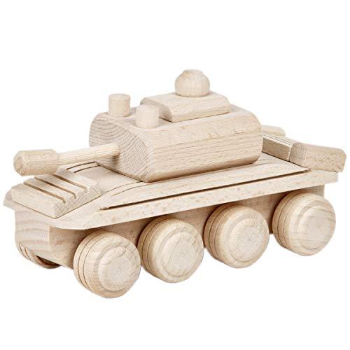 Panzerwagen Holz Auto Spielzeug Panzer Armee Holzpanzer Holzauto
