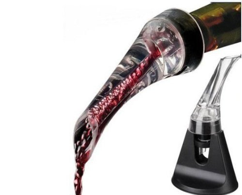 Mayshion Red Wine Decanter Aerating Spout Pourer Set With