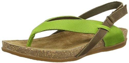 El NaturalistaZUMAIA - Sandali Donna , Multicolore (Mehrfarbig (GREEN MIXED)), 38 EU