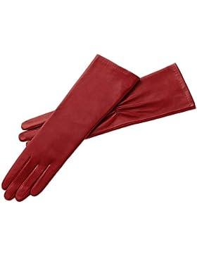 Roeckl Damen Handschuh 'Evening' Nappa/Seide Rot