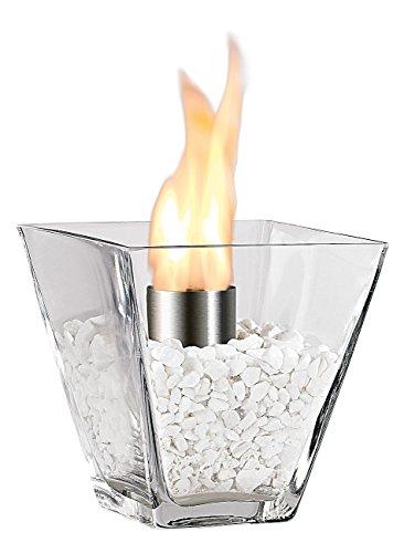 Carlo Milano Feuerstelle: Glas-Dekofeuer