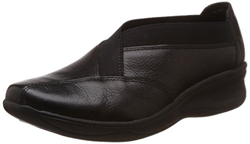 200f4cdc9bd Hush puppies 6546176 Womens Pose Black Leather Ballet Flats 4- Price in  India