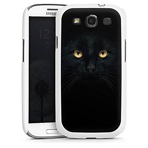 DeinDesign Hülle kompatibel mit Samsung Galaxy S3 Handyhülle Case Katze Eyes Augen
