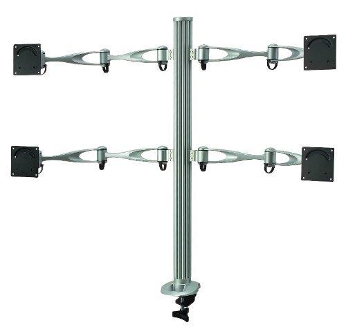 Cotytech Quad monitor Desk Mount Full Swing